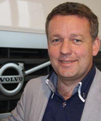 Erik Engelien er toppsjef for virksomheten i både Volvo Trucks og Renault Trucks i Norge.