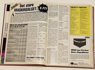 A&Ts statistikkspesial fra 1986.