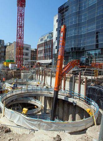 Crossrail-prosjektet beskrives som Europas største byggeprosjekt i øyeblikket.