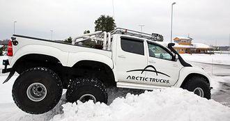 6x6-bilen er virkelig kongen på snøhaugen.