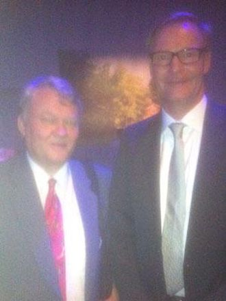 Vår redaktør, Bjørn Eilert Eriksen, hadde en kort samtale med Volvos konsernsjef Olof Persson under lanseringen.