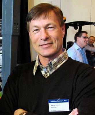ADM. DIREKTØR: Bjørnar Iversen er adm. direktør i Kranor.
