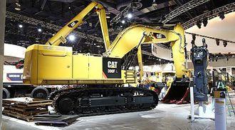 92-tonneren Cat 390F bruker sju prosent mindre drivstoff enn forgjengeren Cat 390F.