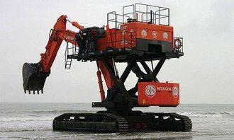 Denne Hitachi-maskinen er et høydepunkt i dobbel forstand.