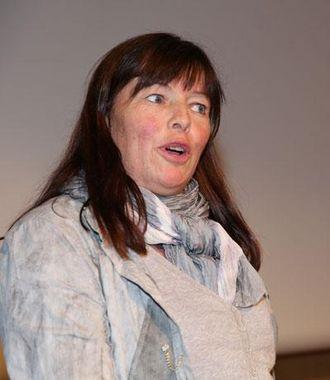 Prosjektleder i LNS Ruth Haug slapp nyheten om rubinprosjektet under sitt foredrag på Fjellsprengningskonferansen.