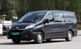 Toyota Proace, som er det japanske bilmerkets nye store satsing i varebilmarkedet, ble lansert i august.