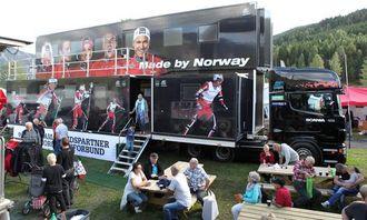 Fra Norsk Scania sitt område.