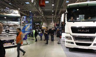 Mercedes-Benz, MAN, Volvo og Scania var plassert som nærmeste naboer på messen, og alle syntes det var bra at det ble et stort importørområde i år.