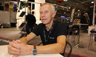 Arne Tvenge i MAN er fornøyd med første år på Oslo Motor Show.