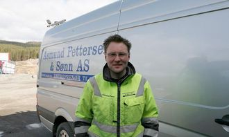 Firmaets daglige leder, Christian Bruun, lanserte idéen om «Skogsdumperen».