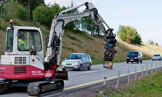 På E18 i Vestfold skal mye autovern oppgraderes i forbindelse med hastighetsøkningen til 110 kilometer i timen. Alt gammelt wirerekkverk skal erstattes.
