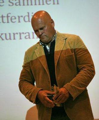 Albert Hæhre fra Hæhre Gruppen.