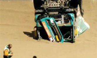 Hans Stacey er ute av Dakar 2013.