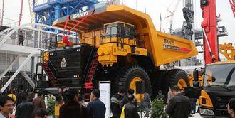 Gruvedumperen SET230 er en de største nyhetene fra Kinas største produsent av anleggsmaskiner, Sany, under Bauma China.