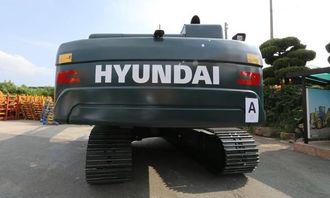 ELLER SLIK: Hyundais forslag til design på nye gravemaskiner. Hva mener du ser best ut?