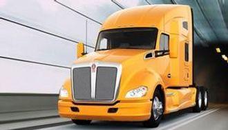 En moderne amerikansk lastebil har langt lavere luftmotstand enn dagens europeiske lastebiler. Dette er Kenworth T680.