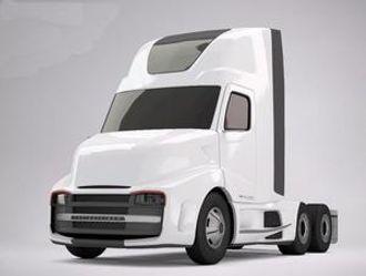 Daimler-eide Freightliners fremtidsstudie har mange av elementene fra FKA-trekkvognen.