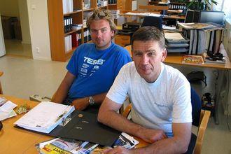 At sønnen Jon Arve er kommet med i virksomheten gleder Johan Rognerud.