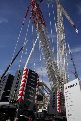 Terex Superlift 3800 er den største kranen som noensinne har vært vist på Conexpo.