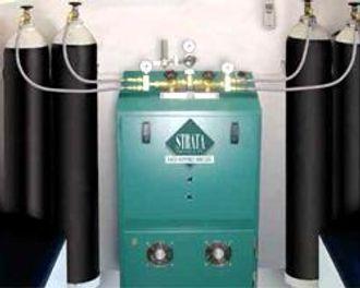 Anlegg for rensing av karbonmonoksid fra menneskelig utpust.