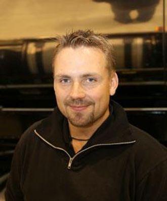 Lastebileier Christian Dannström fra Sävsjö i Sverige.