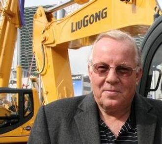 MR. LIUGONG I NORGE: Terje Lien, Hako Maskin AS.
