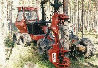 Et herlig bilde fra skogen, tatt for ikke så veldig lenge siden av folk med tilknytning til 25-årsjubilanten Hako Maskin.