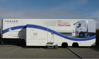 Denne lastebilsimulatoren skal gi yrkessjåføropplæringen et løft i Sogn og Fjordane.