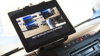 Allerede i november vil Daily komme med den første produktoppdateringen etter lanseringen i juni. Bilen får da blant annet en ny tablet/smarttelefonholder med sentral plassering.