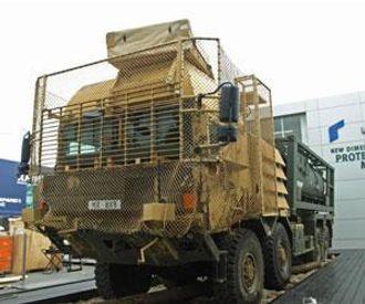 Alle HX-typene er forberedt for pansring eller annen type beskyttelse.