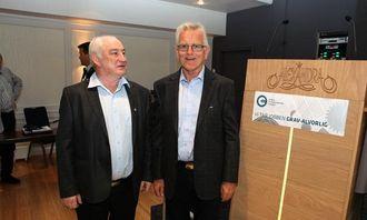 Harald Kvame (t.v.), leder i MEFs avdelingsstyre i Sognog Fjordane, og Arvid Gjerde, leder i MEFs avdelingsstyre i Møre og Romsdal, er sammen om å arrangere Loen-dagene 2013. Disse to fylkesavdelingene har arrangert arrangementet sammen siden starten for 34 år siden.