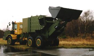 Prototyp på minerydder FFI Moxy.