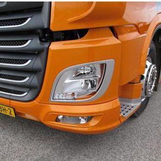 Som første lastebilprodusent har DAF tatt i bruk LED-teknologi i hovedlyktene.