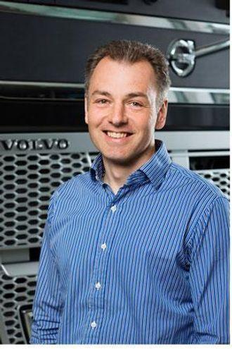 Jonas Nordquist er ansvarlig for produktfunksjon og lønnsomhet hos Volvo Trucks.