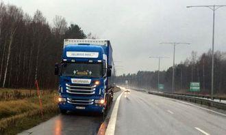 E20 ved Örebro.