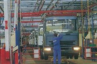 Fra Ivecos Brecia-fabrikk i Italia.