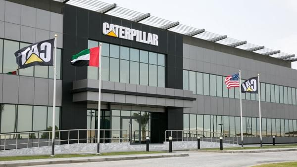 Nyåpnede Middle East Distribution Center i Dubai, Forente Arabiske Emirater.