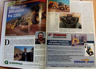 Cat-oppslaget i Anlegg&Transport 01 1998.