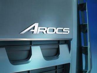 Logoen bærer budskap om at vi nå snakker om en anleggsbil.