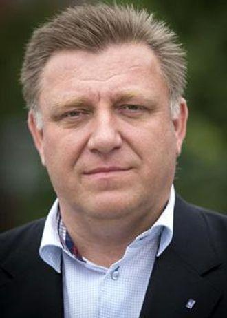 Adm. direktør Geir A. Mo i Norges Lastebileier-Forbund.