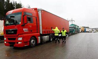1760 kjøretøy ble veid i tungbilkontrollen som varte fra 8. til 10. april ved Taraldrud kontrollstasjon.