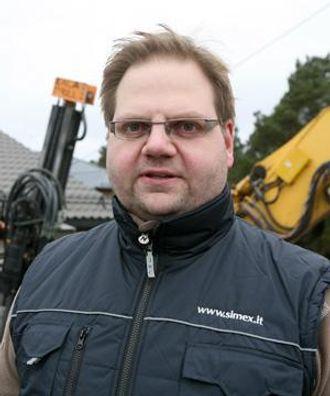 David Netskar får mange henvendelser etter at A&T skrev om det finske boretårnet ExcaDrill.