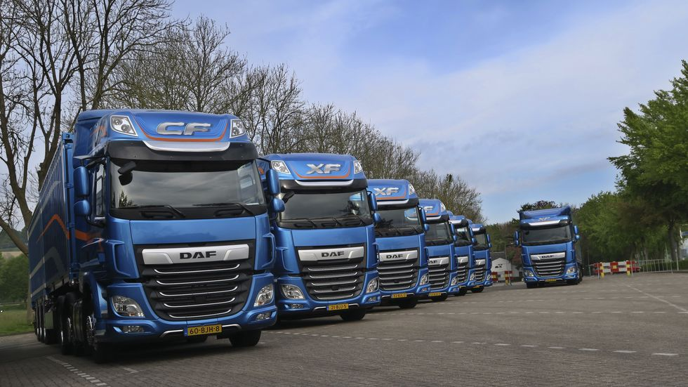 DAFs nye CF- og XF-serie er International Truck og the Year 2018.