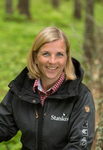 Skogsjef Monica Grindberg hos Statskog opplyser at det nå blir en periode med mindre hogstmoden skog på Statens eiendommer.