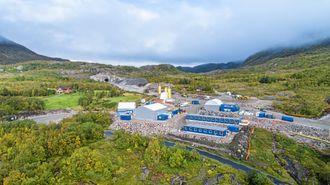 PNC Norge er kommet langt på vei på prosjektet Fylkesvei 17 Liafjellet-Olvikvannet på Helgeland.