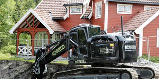 Tomtespesialist  med «Black Beauty»