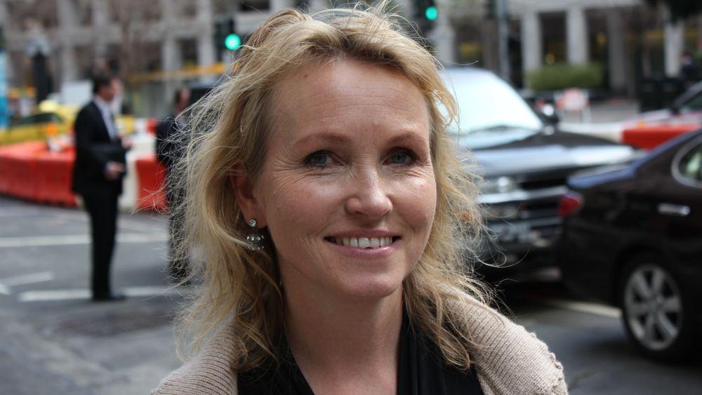 """Anne Worsøe var på vakt hos Innovasjon Norge i San Francisco da Innovation House ble unnfanget. Hun """"bidro med barnas skolepenger"""" for å kunne inngå leiekontrakten. Foto: Tormod Haugstad."""