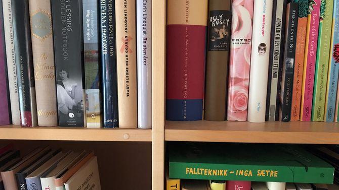 Bøker Bokhylle Litteratur