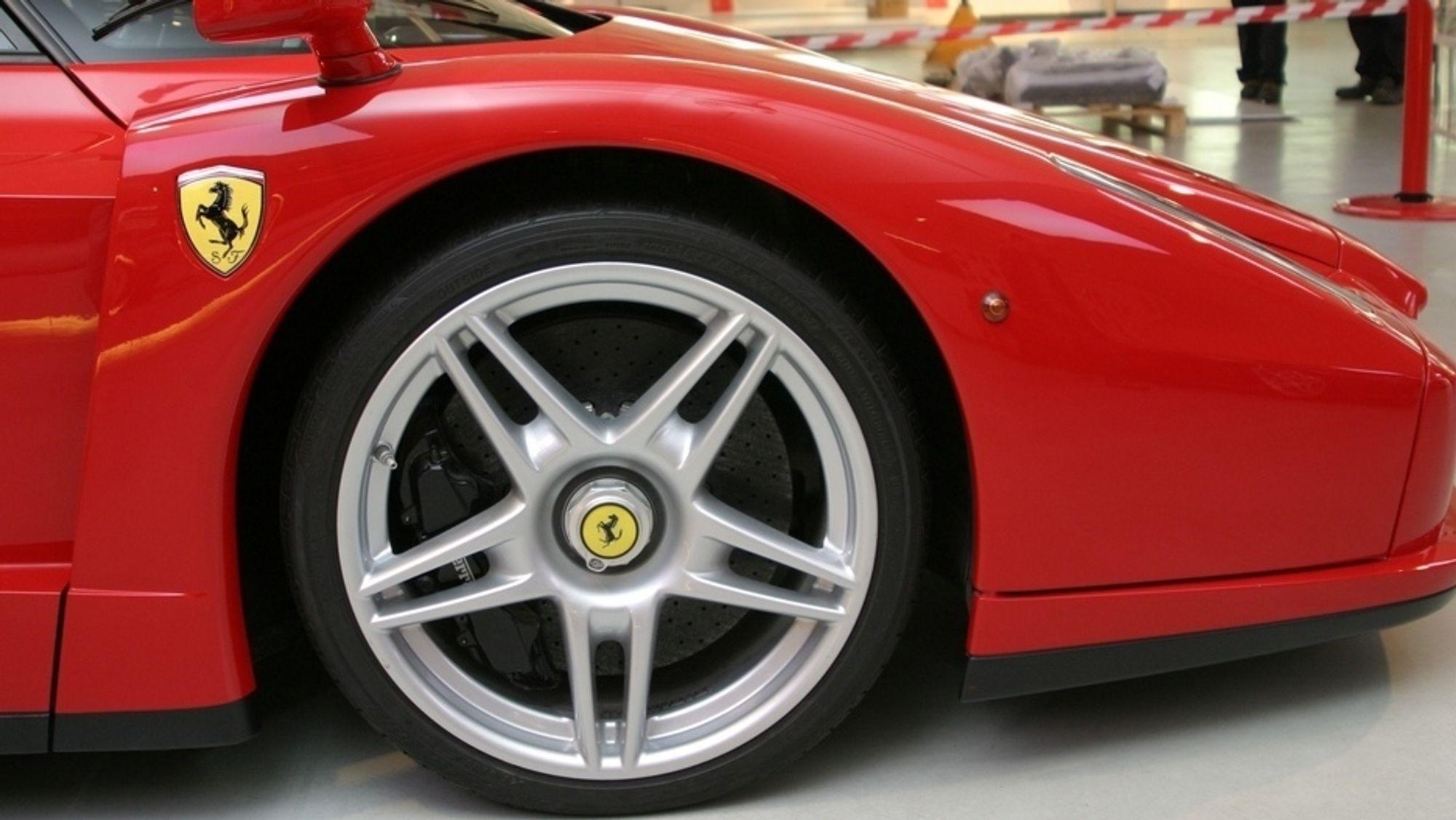 En fremtidig elektrisk Ferrari er ikke bekreftet, men heller ikke utelukket.