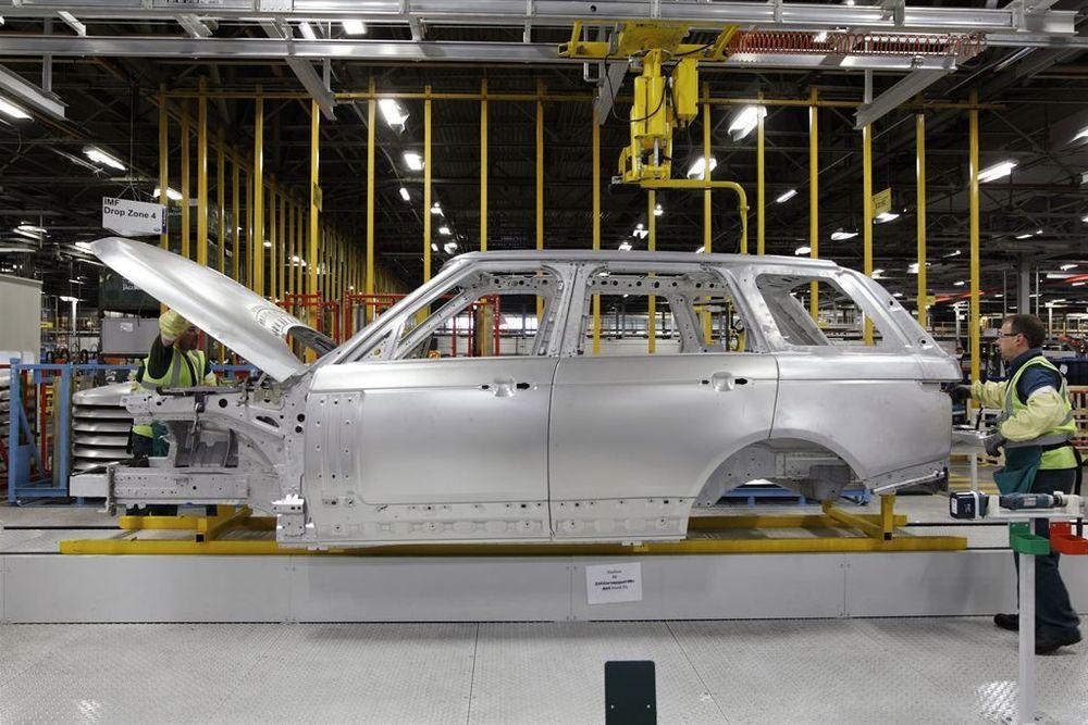 Hydro leverer aluminumsdeler til Range Rover. En Range Rover Sport ble 500 kilo letter ved å erstatte stål.